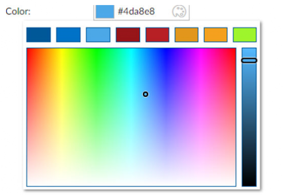 cWebColorForm (with palette)
