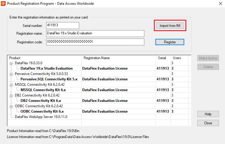 190RegistrationProgramScreenshot