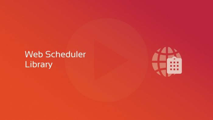 Web Scheduler Library