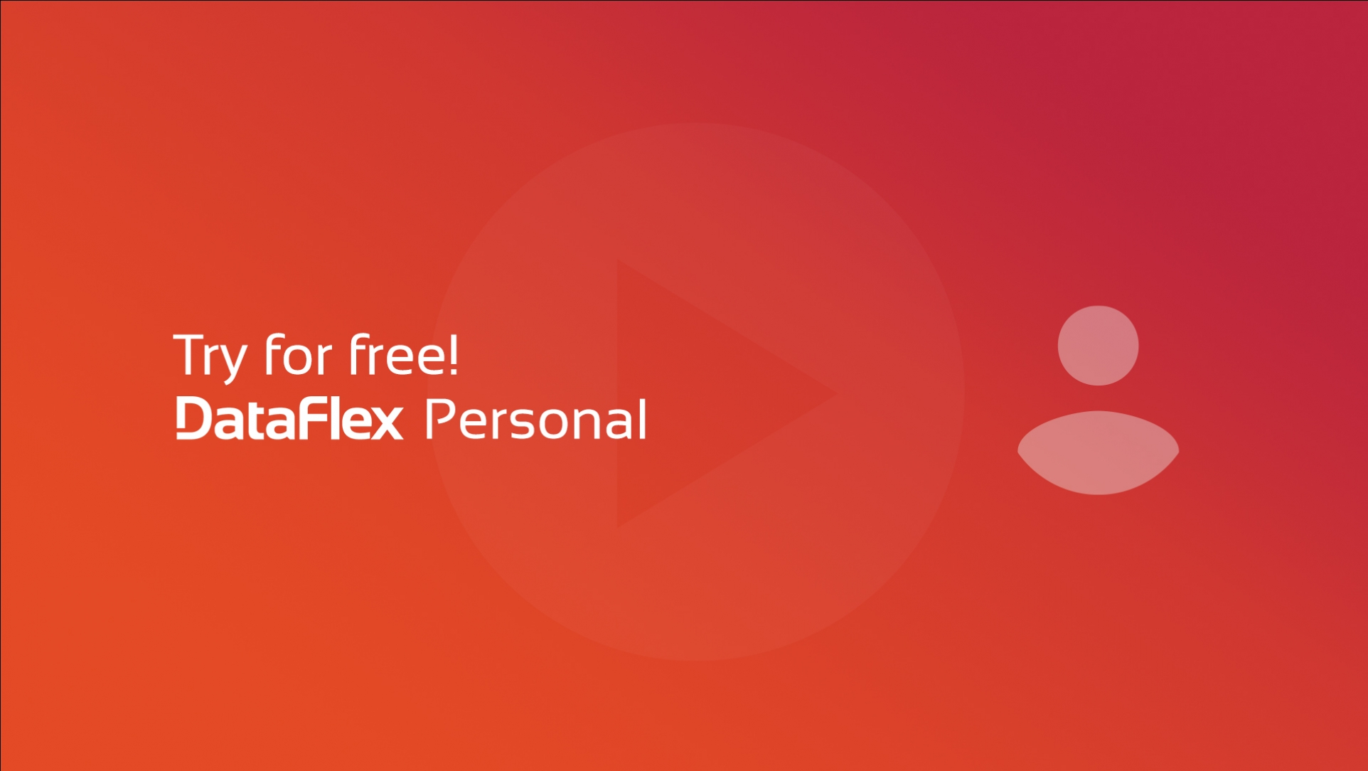 New video course: Try for free - DataFlex Personal