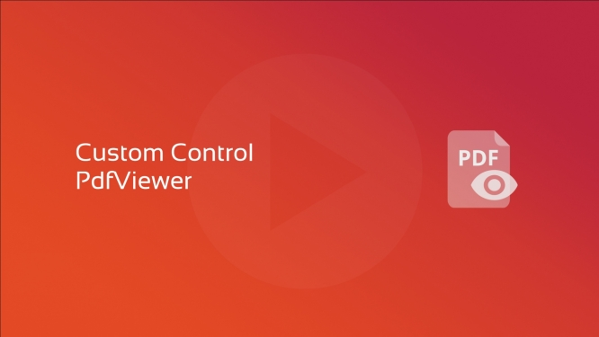 New course: Custom Control PdfViewer