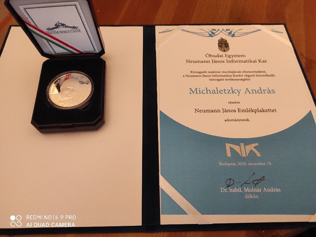 András Michaletzky award for DataFlex Education