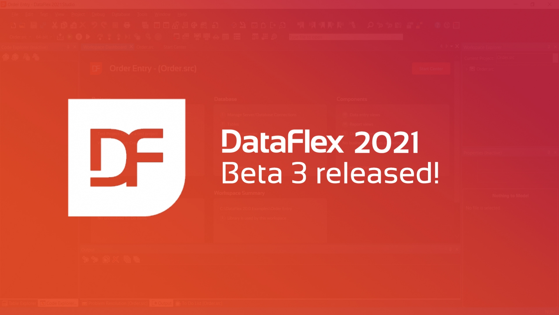 New Release: DataFlex 2021 Beta 3
