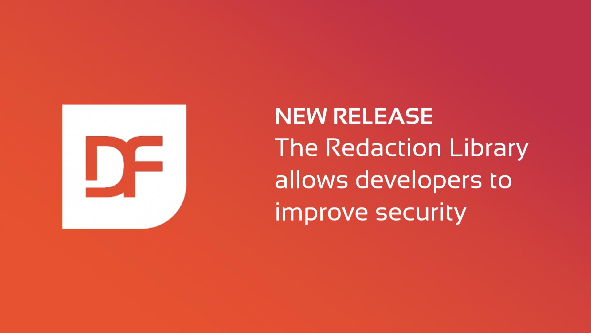 Redaction Library for DataFlex