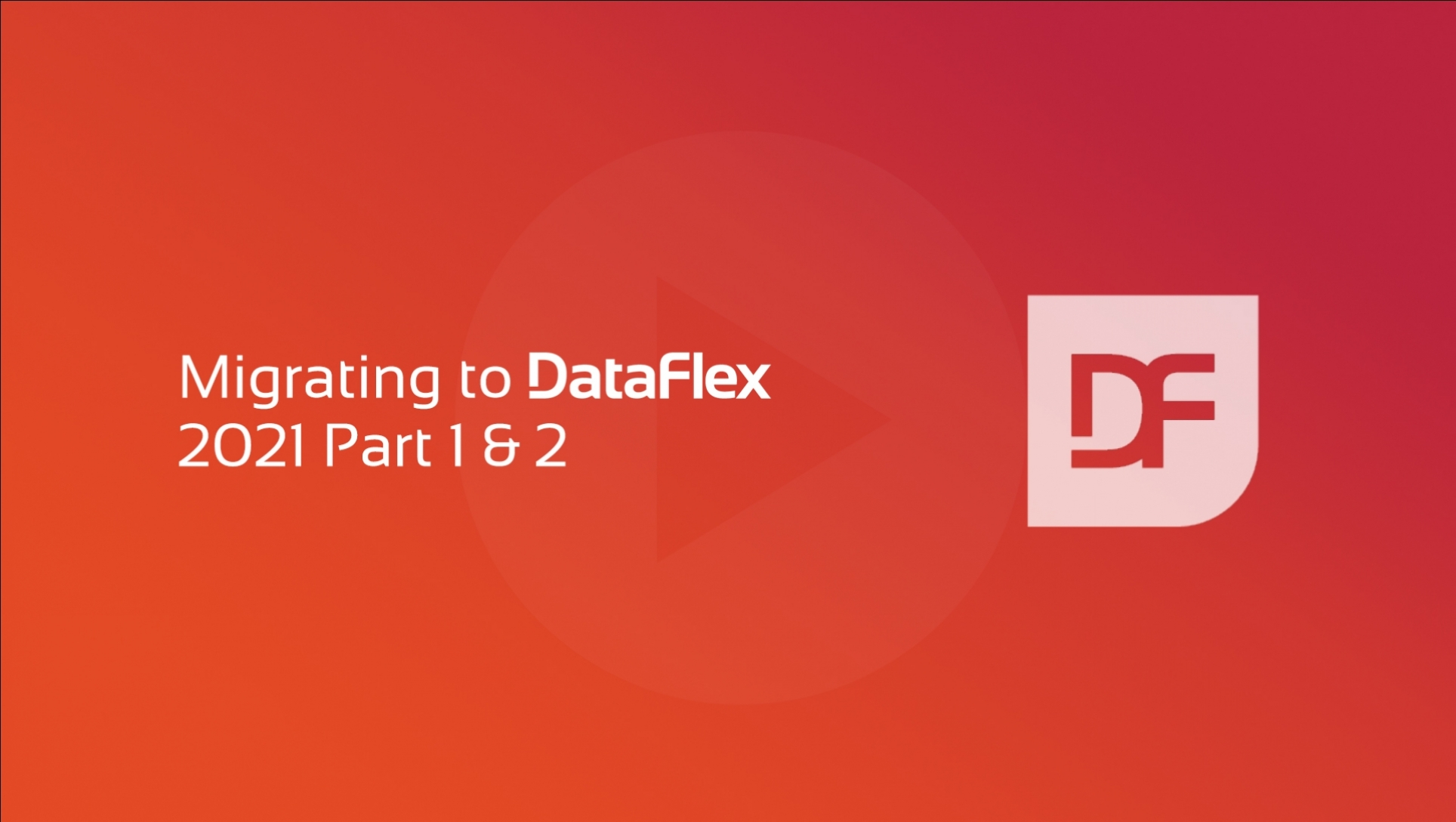 Migrating to DataFlex 2021 Part 2 - Unicode