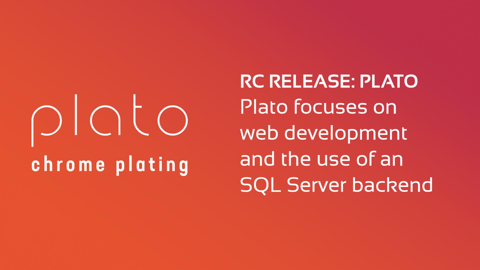 Plato Update