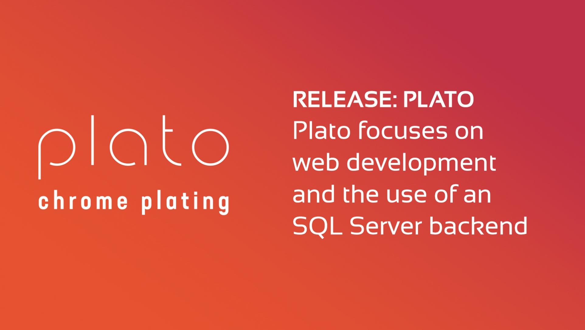 Plato Sample DataFlex App Released!