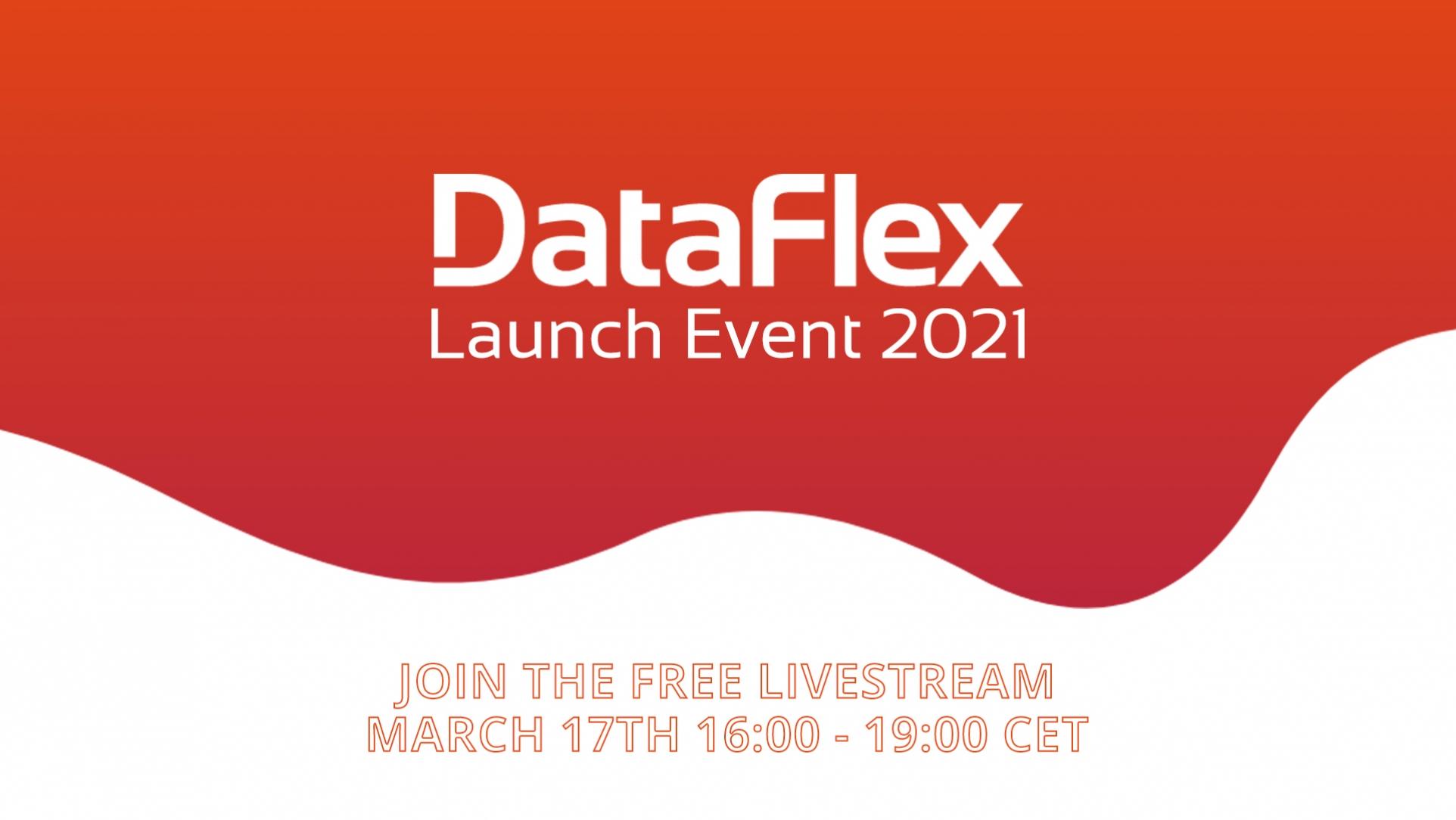 DataFlex 2021 Product Launch Event