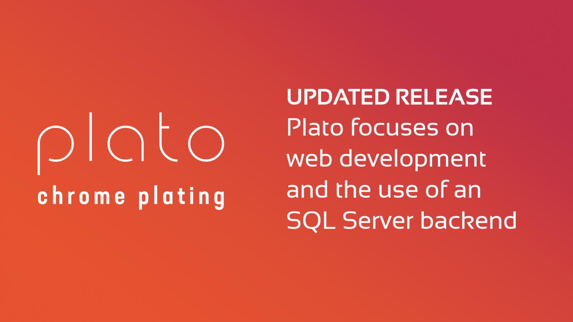 Plato Sample DataFlex App Update Released