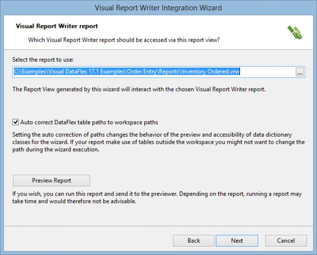 select report