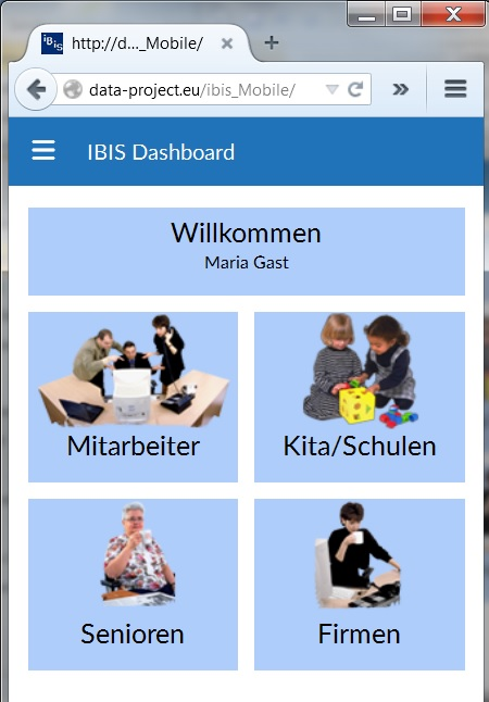 IBIS Menu Screenshot