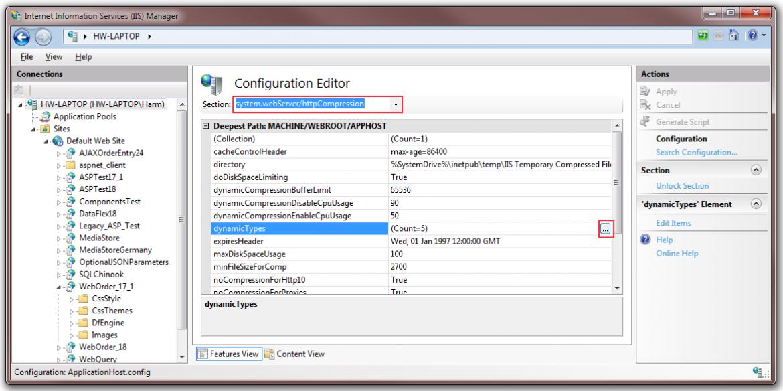 8 - Configuration Editor Dynamic Types