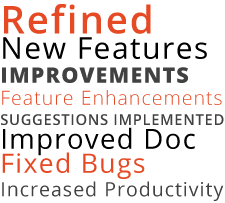 DataFlex 2016/18.2 improves developer productivity!